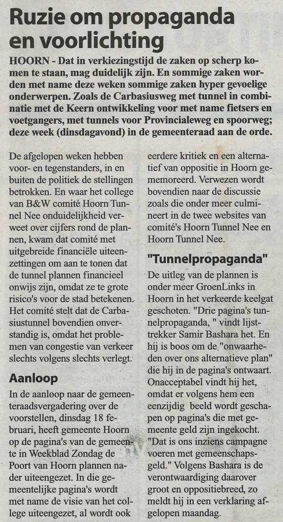 Weekblad voor WF 12022014
